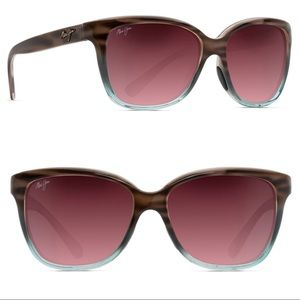 { Maui Jim } Starfish Sandstone Blue Sunglasses